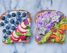 Friday's are for fancy breakfasts! Pick your favorite toast! Or eat all of them like I did this morning  Curious what's in these little guys? Find out on snapchat  (nishav77)  I hope you all have a magical weekend!