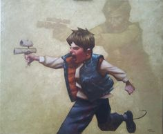 Star Wars: In A Backyard Far Far Away - Han Solo by Craig Davison *