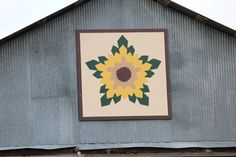 Experience The Kansas Flint Hills Quilt Trail. Site has a map and photos of a large number of barn quilts. From very simple to fairly complex. Barn Quilt Designs, Barn Quilt Patterns, Quilting Designs, Painted Barn Quilts, Barn Signs, Block Painting, Barn Art, American Quilt, Old Barns