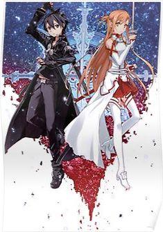 - Kirito and Asuna Schwertkunst Online, Online Anime, Buy Art Online, Sword Art Online Asuna, Chica Anime Manga, Anime Kawaii, Sao Kirito And Asuna, Sword Art Online Wallpaper, Image Manga