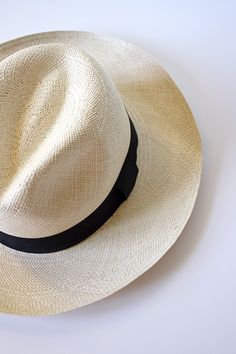 J.Crew Panama Hat - Wimbledon