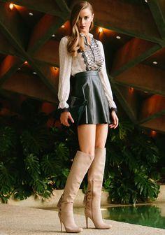 Fringe 'Jemiah' Lace-Up Boots