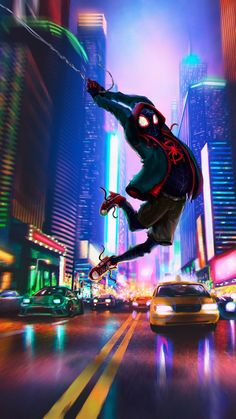 Seven Things You Need To Know About Spider-man New York Wallpaper Today Spiderman Kunst, Spiderman Poses, Spiderman Girl, Spiderman Pictures, Black Spiderman, New York Wallpaper, Marvel Wallpaper, Marvel Comics Art, Marvel Heroes