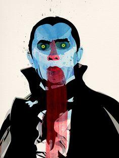 Vampire by Alvaro Tapia Hildalgo Arte Horror, Horror Art, Horror Movies, Illustrations, Illustration Art, Vampire Illustration, Collages, Vampires And Werewolves, Real Vampires