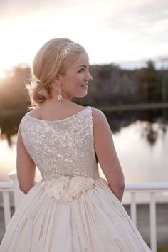 The Southern Belle Bride. I could not love this more!