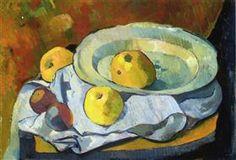 Plate of Apples - Paul Serusier 1891