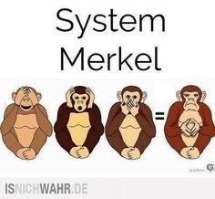 System Merkel Sticker, Button, Flyer, Handzettel, Protest, Revolution, Demonstration, wahre Worte, Befreiung, Freiheit, Europa, Deutschland