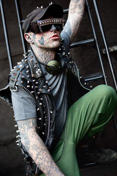 Rick Genest aka Zombie Boy, tattoos are amazing <3