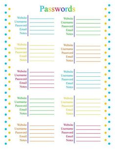 How a simple budget paid off Five Thousand Dollars of debt in six weeks Daily Planner Printable, Planner Pages, Life Planner, Work Planner, Weekly Meal Planner, Budget Planner, Password Tracker, Password Manager, Password Ideas