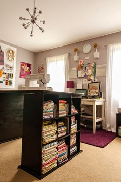 Bijou Lovely: studio spotlight. The most incredible sewing room in all the land! #christmas #sewing #quilting