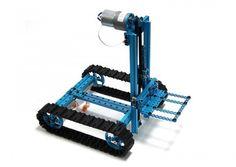 con MakeBlock puedes construir robots de verdad