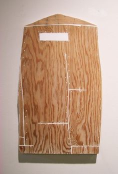 Drawing (2006) by Whiting Tennis (plaster and plywood)