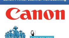 Canon Printer Scanner Not Scanning | 1-855-531-3731