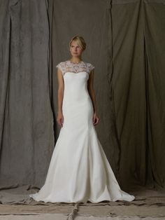 Modest Lace...#Wedding Gown Fashion: Lela Rose's Spring 2013 Collection