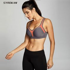 Women Exercise Fitness Yoga Sports Bra Set Cross Back Letter Print Wide s2zl 01