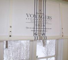 Lillabelle Ocean Gardine Raffrollo 120 X100 Weiss Shabby Vintage Landhaus Curtain Ebay Interer