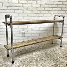 ガス管DIYで、クールで無骨なインダストリアル系家具を作ってみよう!   MAKIT!