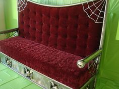 Need home decorating ideas? Darken up your home and get wicked ideas with the most awesome Gothic, Steampunk, Horror, and Victorian Furniture around. Dark Home Decor, Goth Home Decor, Gothic Furniture, Furniture Decor, Gothic House, Home And Deco, Home Furnishings, Room Decor, House Design