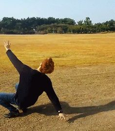 just a little bit of stretching under the sun o/  goal i will never reach lmao  got7 jb