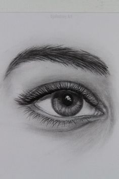 How to Draw Realistic Eyes Easy Step by Step: Eye Drawing Tutorial / Hello guy! In this tutorial you will learn to draw a realistic eye step by step easily, this video is about 53 minutes. I also show how to draw eyeball, eyelashes etc. Go watch the video to the end so you can see the final result of the artwork. Click on the link.