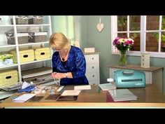 ▶ Crafting My Style With Sue Wilson - Portuguese Lisbon, Canadian Montreal, Fold Over Flower, Mosaic Leaves Card Making Tips, Card Making Tutorials, Card Making Techniques, Making Ideas, Video Tutorials, Creative Video, Creative Cards, Cardmaking And Papercraft, Sue Wilson