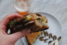 Take a 15 minute respite from your hectic schedule to enjoy our Trumpet Mushroom Grilled Cheese recipe. You wont be sorry!  http://www.thegreenblossomkitchen.com/home/busy-times  #vegetarian #grilledcheese #trumpetmushrooms #delicious #thegreenblossomkitchen #ipa #chicagofoodbloggers