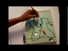 how to make a operation game that can light up or beep when you touch the edges. Shows step by step how to do it. If you need an led, going to any dollar sto...