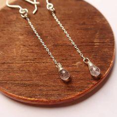 1f0cd98fec6 Love aquamarine jewellery  So do I!! These pink aquamarine drops are so  perfect