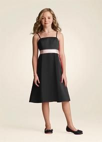 Jr. Bridesmaid dress for Katie but with a red sash