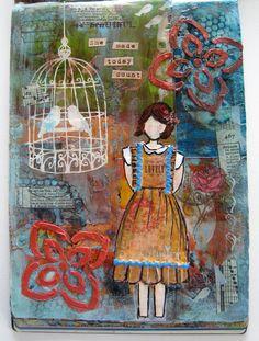 https://flic.kr/p/9LF91H | Girl #06 | Girl #06, The She Art Workshop, Christy Tomlinson