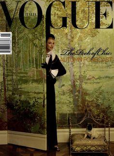 Linda Evangelista by Steven Meisel, Vogue Italia June 2008