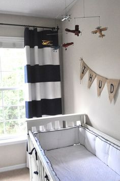 Airplane Nursery Design Inspiration