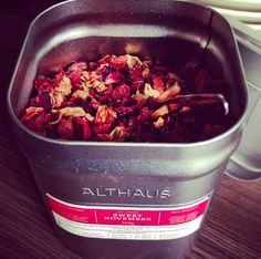 Althaus Tea Tin #Althaus #WeBrew