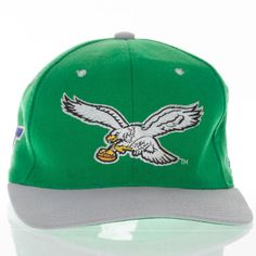 6b6b2234703 Philadelphia Eagles Starter Hat NFL Football Natural Fitted Vintage 7 1 2  Wool