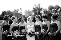 cute bridesmaid pose wausau-wedding-photographer http://magdalenephotography.com/blog/