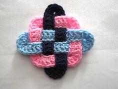 Patrones Crochet: Metodo Punto Celta en Crochet con Cuadrado Granny