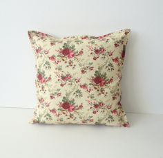 pillow cover  decorative throw pillow cover floral by SNOhome, $17.50