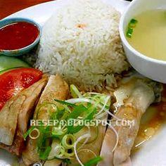 resep nasi hainan - http://resep4.blogspot.com/2013/05/resep-nasi-hainan-komplit.html resep masakan indonesia