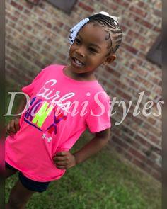 Kids Lemonade Braids with Beads  #DanniStyles
