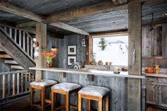 beautiful wooden kitchen.