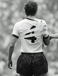 "Franz Beckenbauer, Game of the Century"" 17 June 1970"
