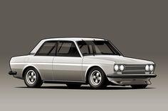 Datsun 510 by ~kazirules