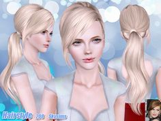 Hair 208 by Skysims - Sims 3 Downloads CC Caboodle
