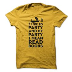 I Like To Party T-Shirts, Hoodies. VIEW DETAIL ==► https://www.sunfrog.com/Hobby/I-Like-To-Party-92369355-Guys.html?id=41382