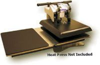Geo Knight Heat Presses are ideal heat press machines for DIY t-shirt decorators. Perfect for applying transfers on shirts, mouse pads and more!