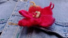 "Unique gift Only 1 each Etsy Galery touch of rainbow "" Felting, Valentines Day, Unique Gifts, Rainbow, Touch, Flowers, Etsy, Original Gifts, Feltro"