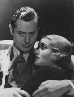 Robert Montgomery and Constance Bennett