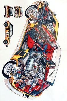 Renault 5 Gt Turbo, Renault Sport, Sport Cars, Race Cars, Alpine Renault, Automobile, Porsche 911, Bike Illustration, Peugeot