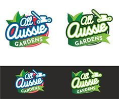 All Aussie Gardens logo design Professional, Elegant Logo Design by GLOW creative