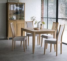 A modern ercol classic, simple clean lines define the Artisan dining collection. Subtle detailing created by chamfered legs, drawer and door edges, are crafted in solid oak with a clear matt lacquer finish that emphasises the natural beauty of the wood to its best effect. Available exclusively through @furniturevillage . . . #Ercol #artisan #dining #handcrafted #luxury #furniture #interiors #interiordesign #home #homeinspo